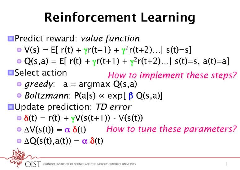 MLSS-2012-Doya-Neural-Implementation-of-Reinforcement-Learning_016